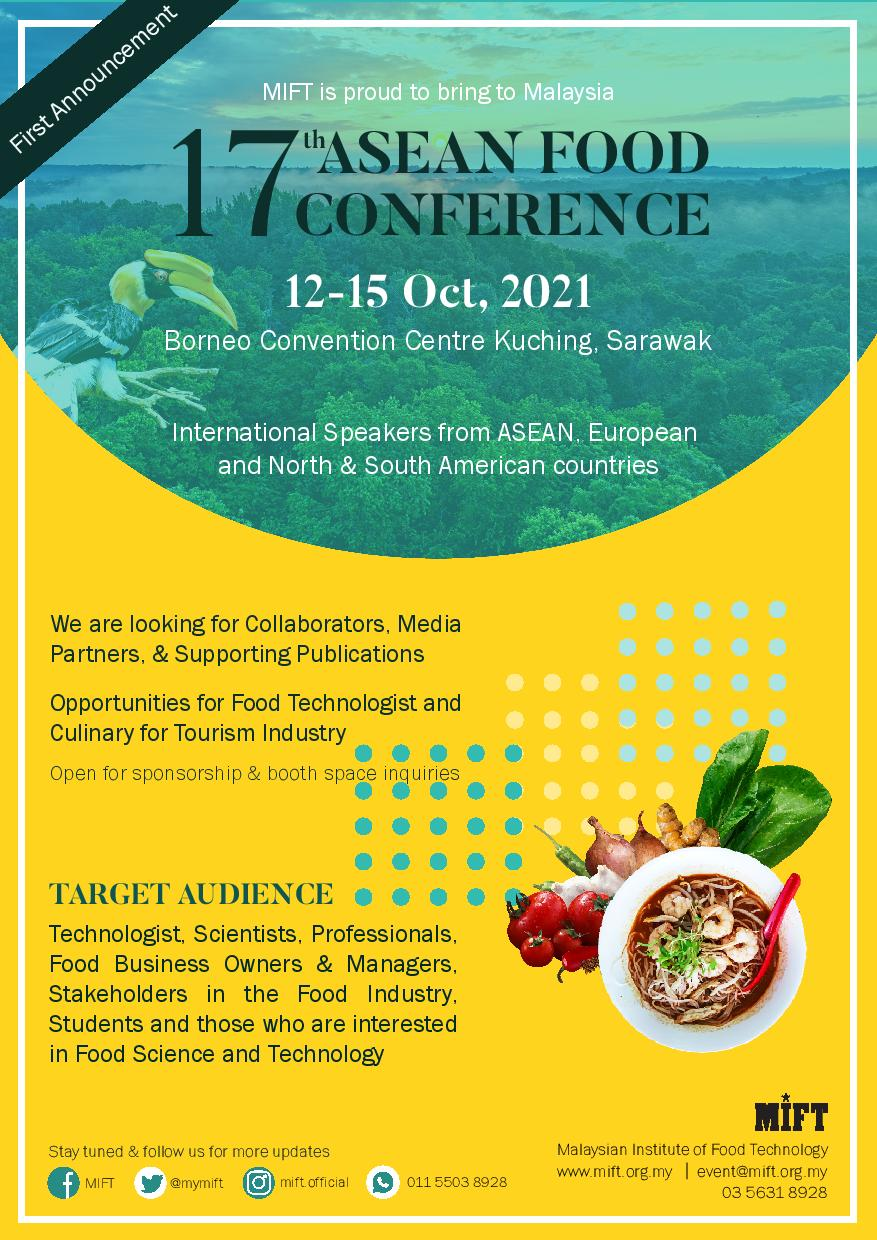 17TH ASEAN FOOD CONFERENCE