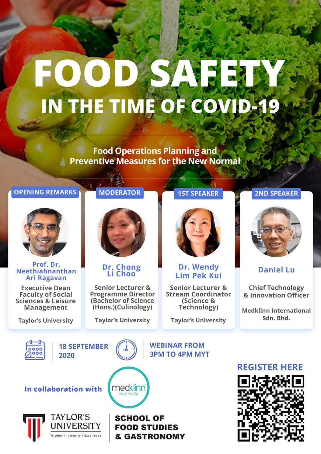 FOOD SAFETY IN THE TIME OF COVID-19